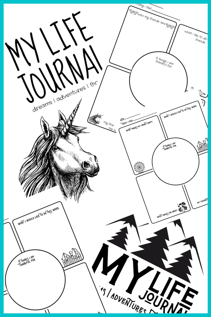 Kid's Printable Journals