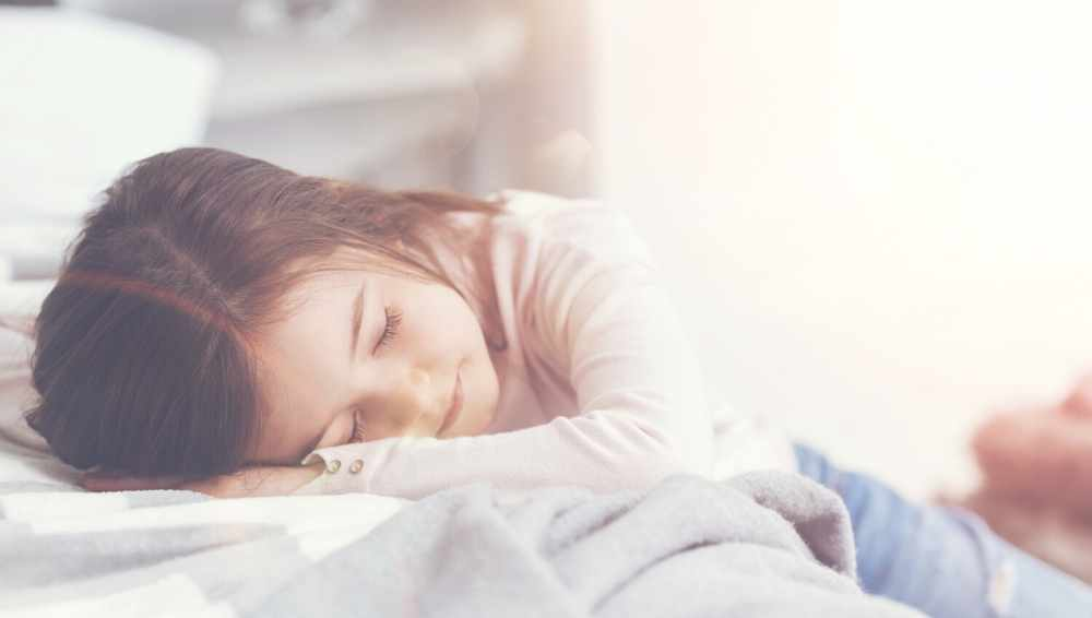 how to get your children to sleep in