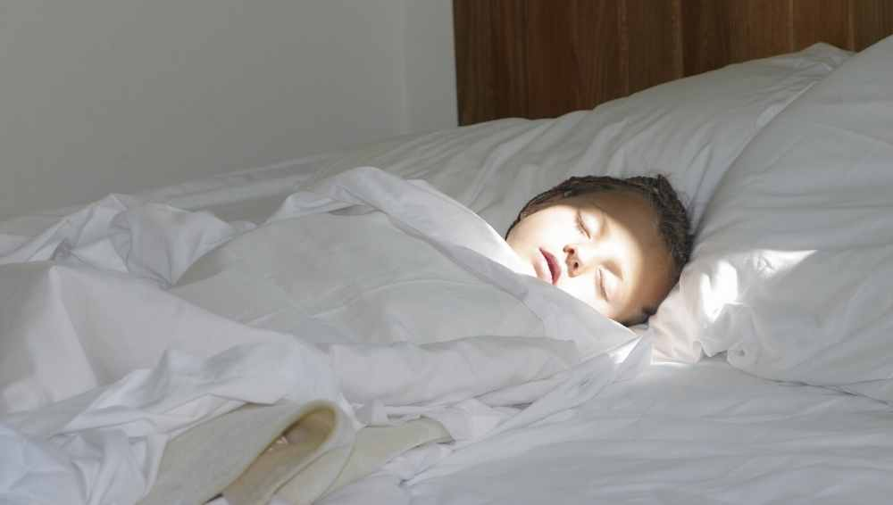 how to get your child to sleep in