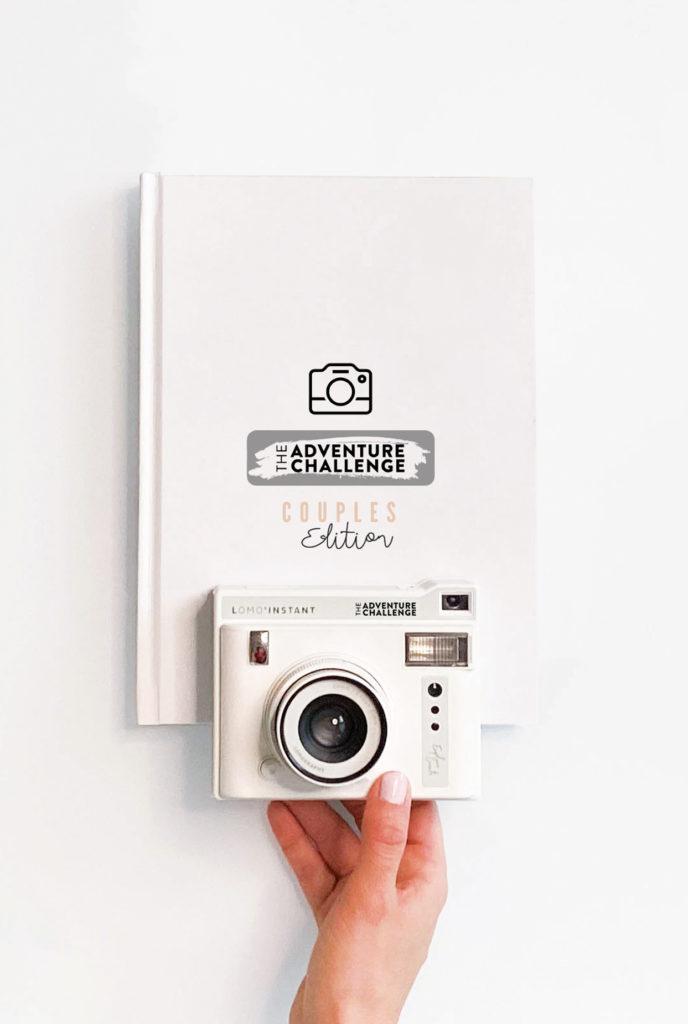 White book and camera
